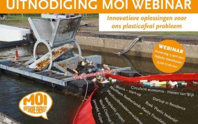 MOI Webinar Innovatieve oplossingen voor ons plastic afval probleem- 15 april 2021-